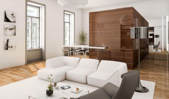Kocka Garzon Wohnungsplanung Kleine Wohnung Design Innenarchitektur