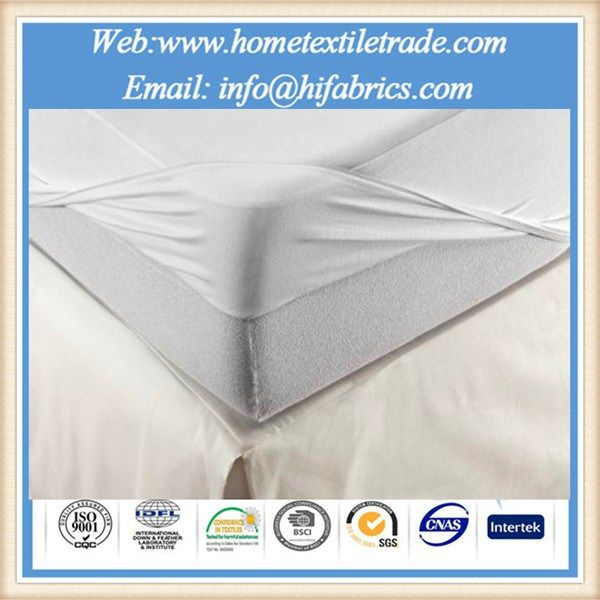 Multifunctional Super King Size Polyester Bed Mattress Cover Topper Protector With Skirt With Waterproof Mattress Cover Waterproof Mattress Pad Mattress Covers