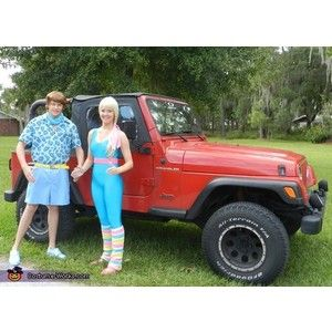 Barbie and Ken Halloween costumes!