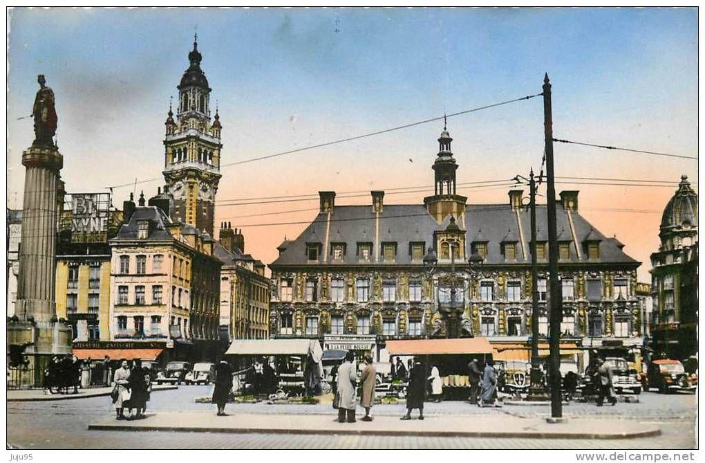 carte postale Lille - Delcampe.fr | Lille ville, Carte postale, Lille