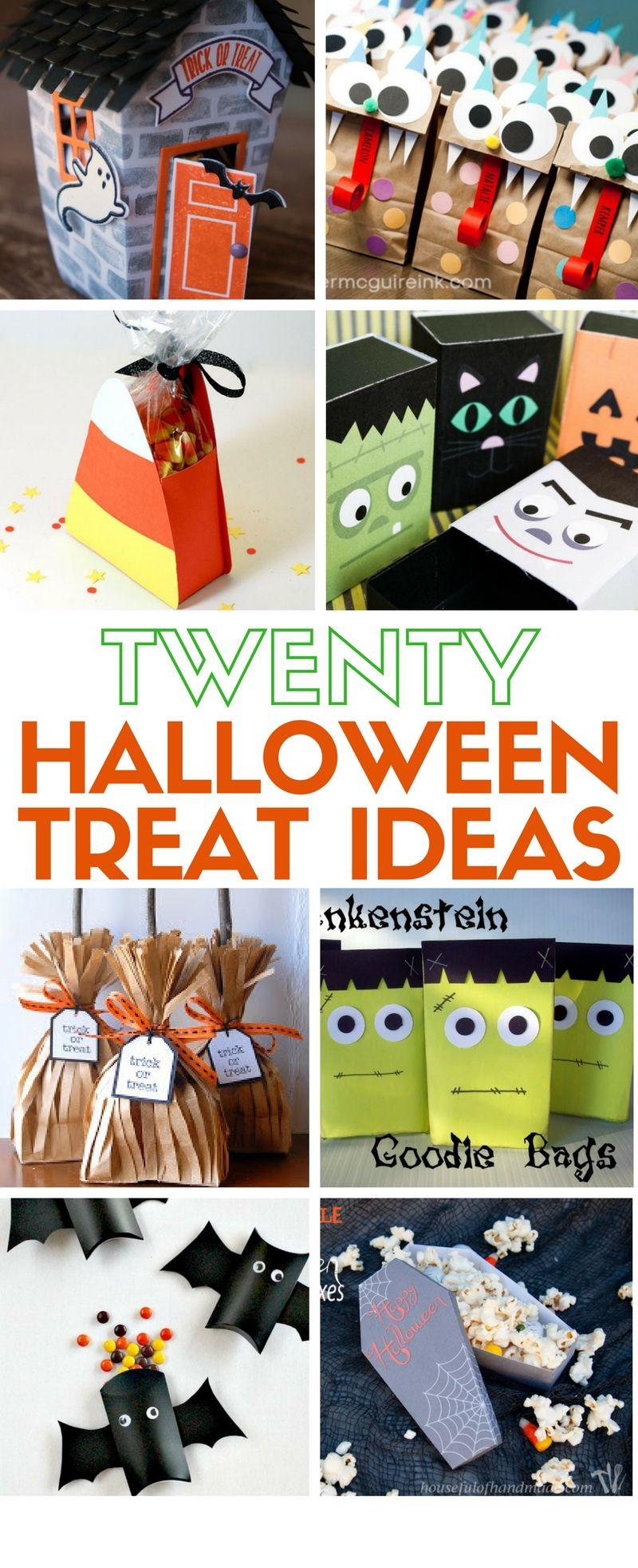How to Make 20 Giftable Halloween Treats Halloween