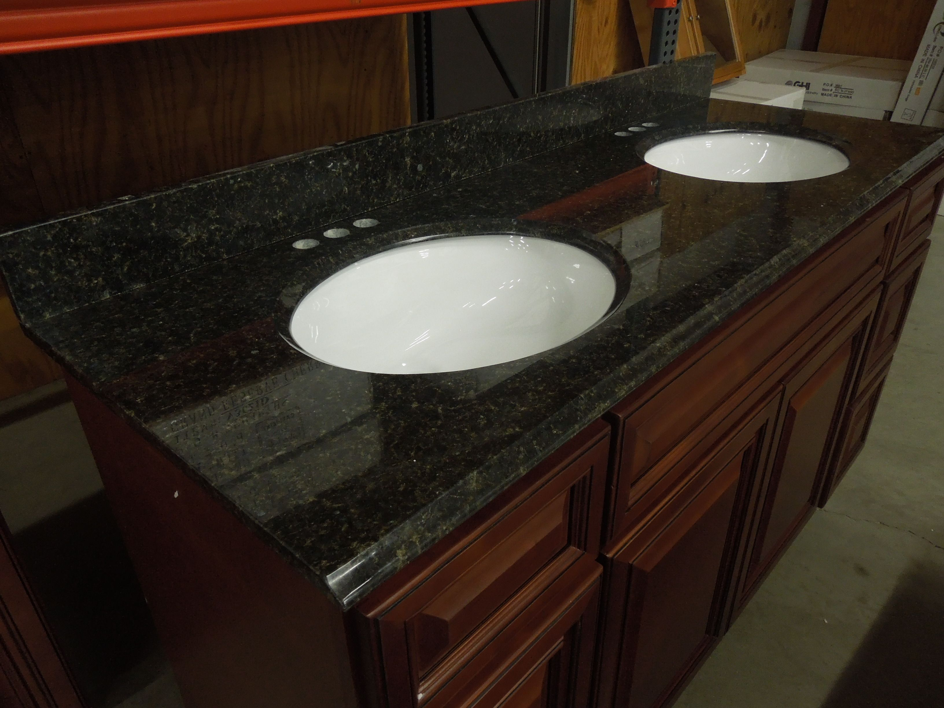 Elegant Uba Tuba Granite Countertop For Main Bath In 2020 Modern
