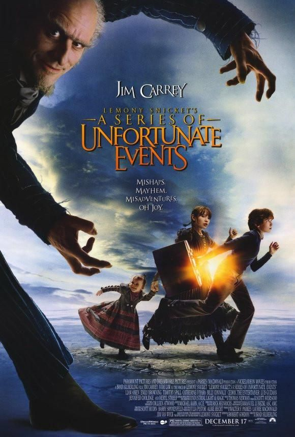 Lemony Snicket S A Series Of Unfortunate Events 27x40 Movie Poster