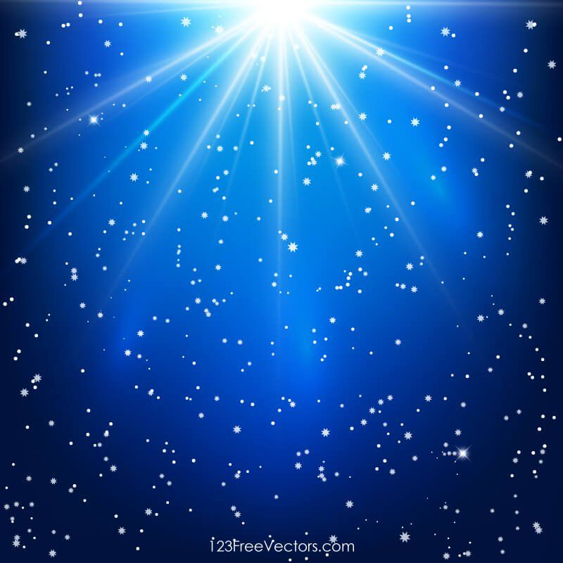 Shining Stars Abstract Blue Background With Light Rays Blue Background Images Blue Backgrounds Light Background Images