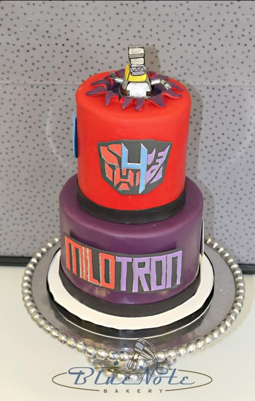 Transformers Theme 4th Birthday