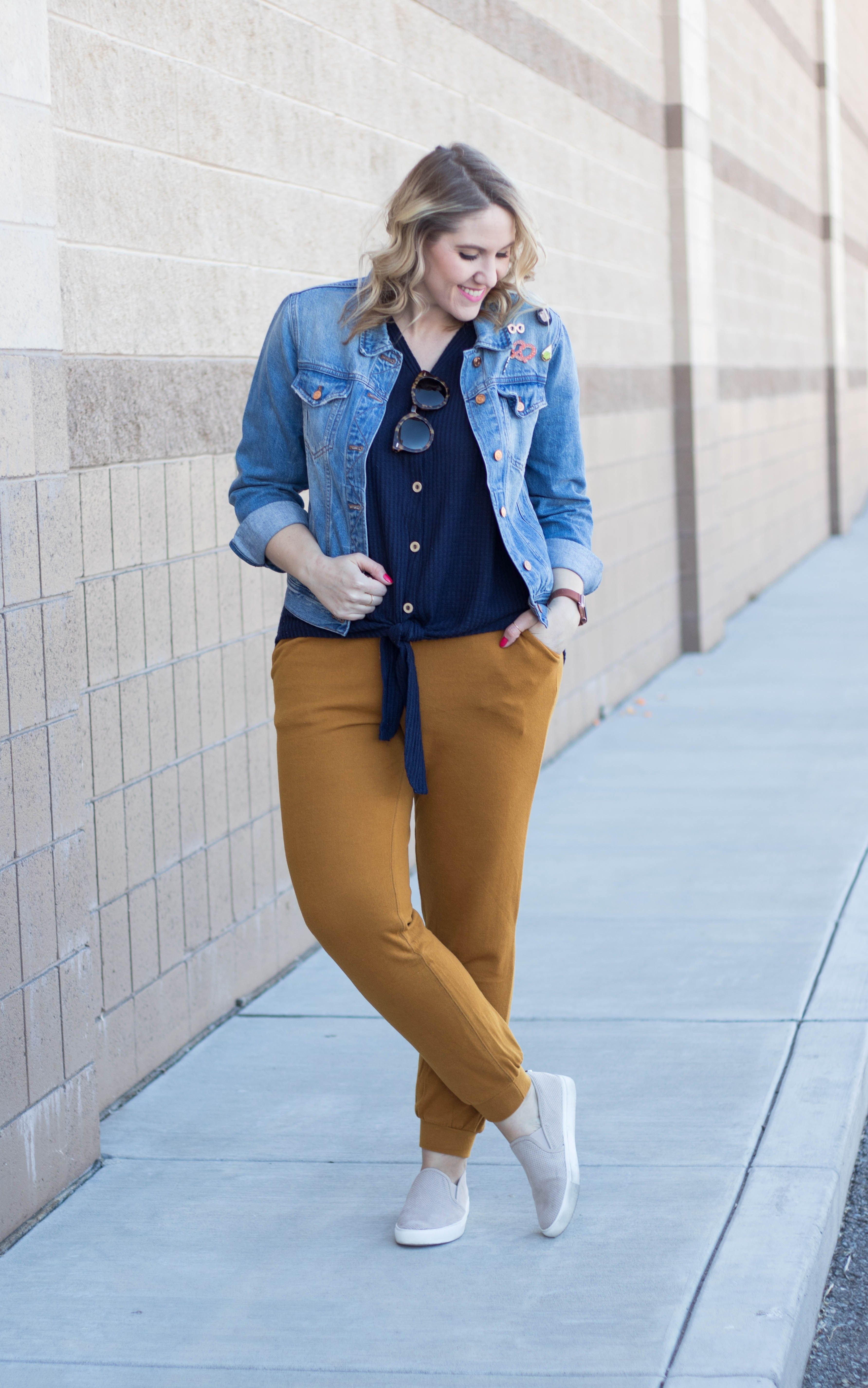 Two Ways To Wear Mustard Yellow With Bella Ella Boutique Middle Of Somewhere Motherhood Fashion Fashion Womens Fashion Casual Spring [ 5703 x 3567 Pixel ]
