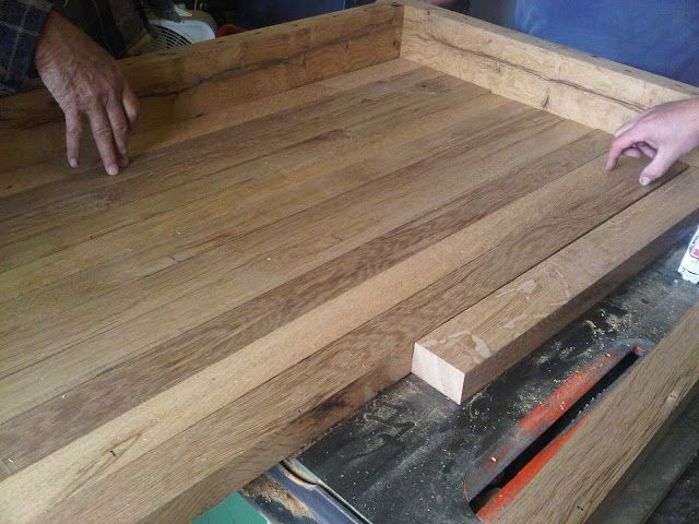 Diy Butcher Block Counter Tops Her Kitchen Is Absolutely