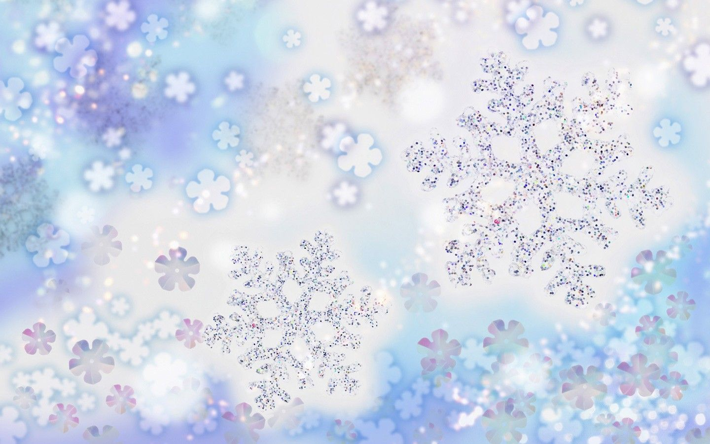 CHRISTMAS SNOWFLAKES Snowflake Wallpaper Christmas Desktop Backgrounds Downloads