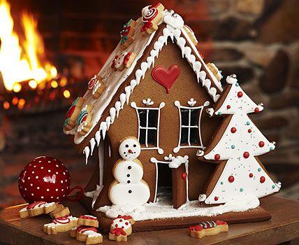 Gingerbread house - Knusperhäuschen selber machen - Geschenke basteln zu Weihnachten 3 - [LIVING AT HOME]