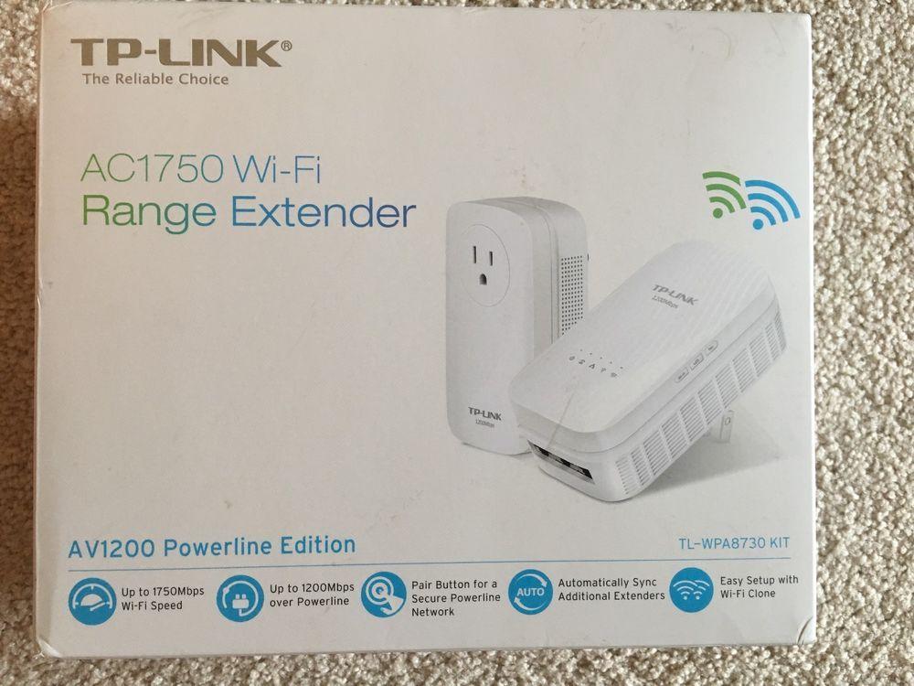 setup up tp link extender ac1750