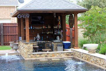 Pin By Dovie Herbort On Pools Pool Bar Design Pool Houses Backyard Pool