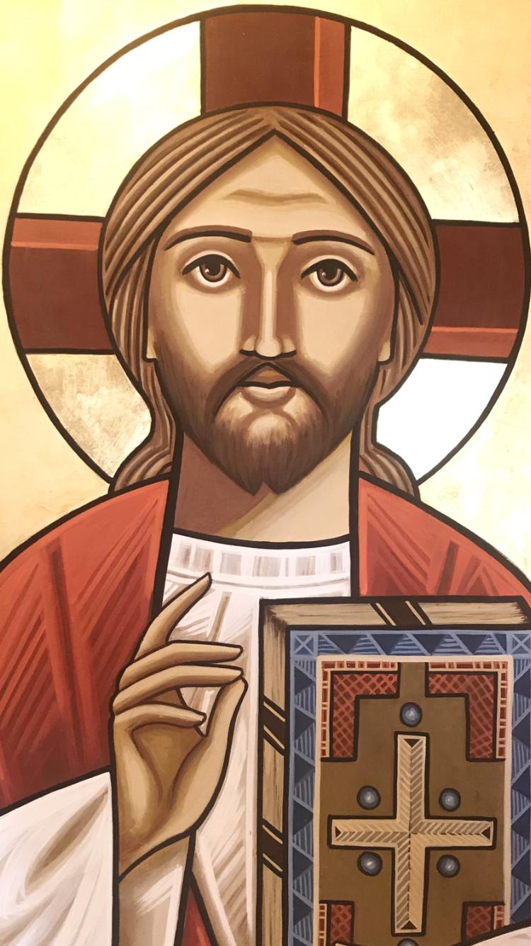 Jesus Christ Coptic Art Arte Catolica Igreja Ortodoxa Catolico