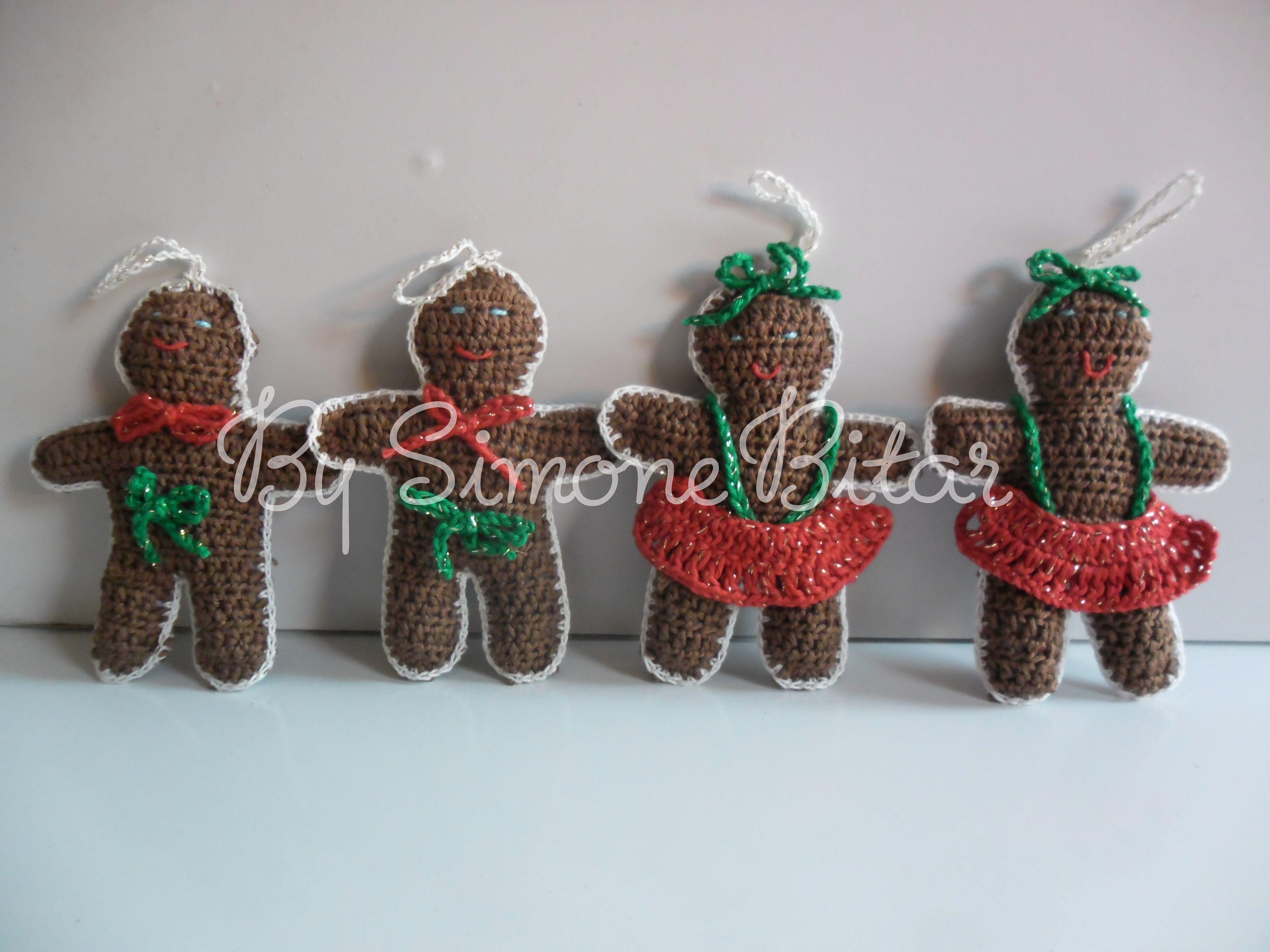 Encomendinha concluída. Essas fofurices vão morar em Campinas! São mini amigurumis enfeites de árvore. http://recantodasborboletas-simoninha.blogspot.com.br/