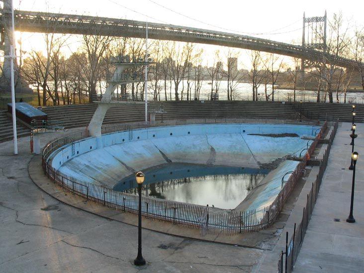 Astoria Park Pool, Former Diving Pool, Astoria Park, Astoria, Queens