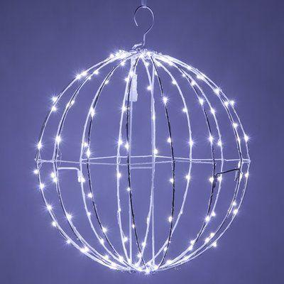 The Holiday Aisle LED Fairy 128 Light Christmas Ball Net Lighting