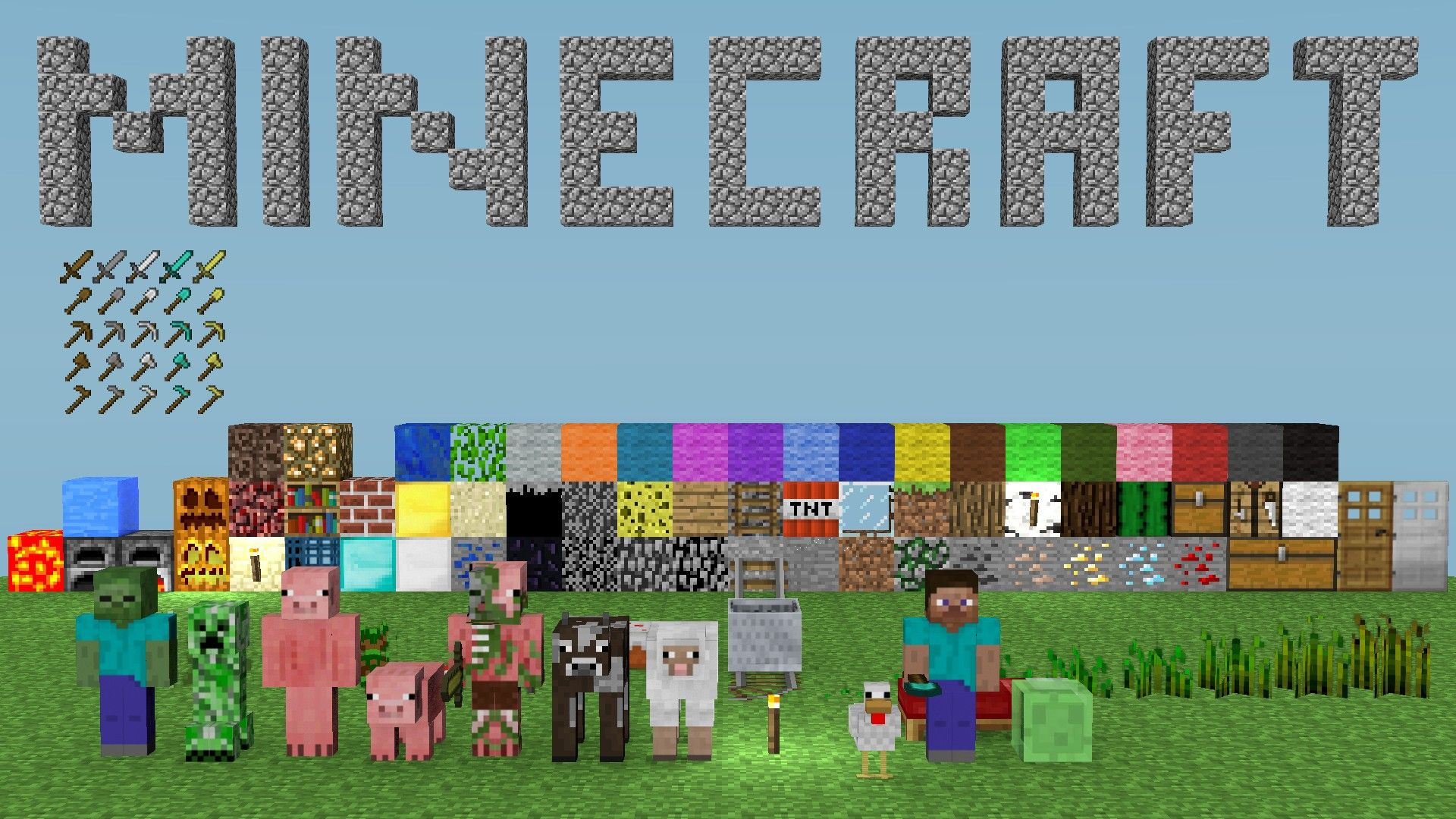 Minecraft Wallpapers For Desktop HD Wallpaper Party Ideas Pinterest - Minecraft block spielen