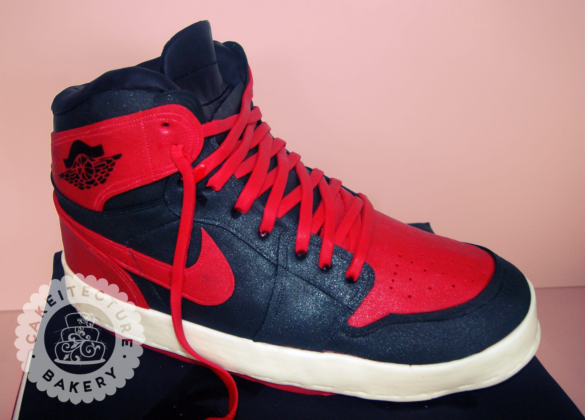 air jordan shoe cakes pictures
