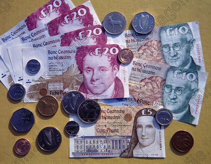 Irland Money Ireland Currency Euro World