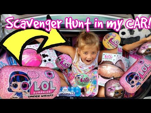 youtube | lol, scavenger hunt, lil sister