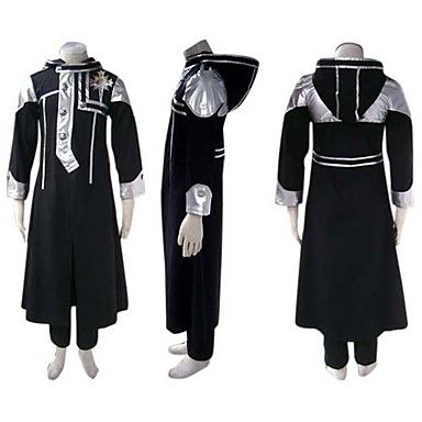[$76.99] Inspired by D.Gray-man Allen Walker Anime Cosplay Costumes Cosplay  Suits Patchwork Long Sleeves Coat Pants Badge For Men's