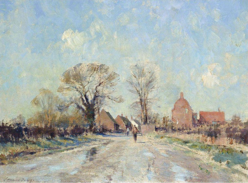 February Sunshine, Ludham. Edward Seago