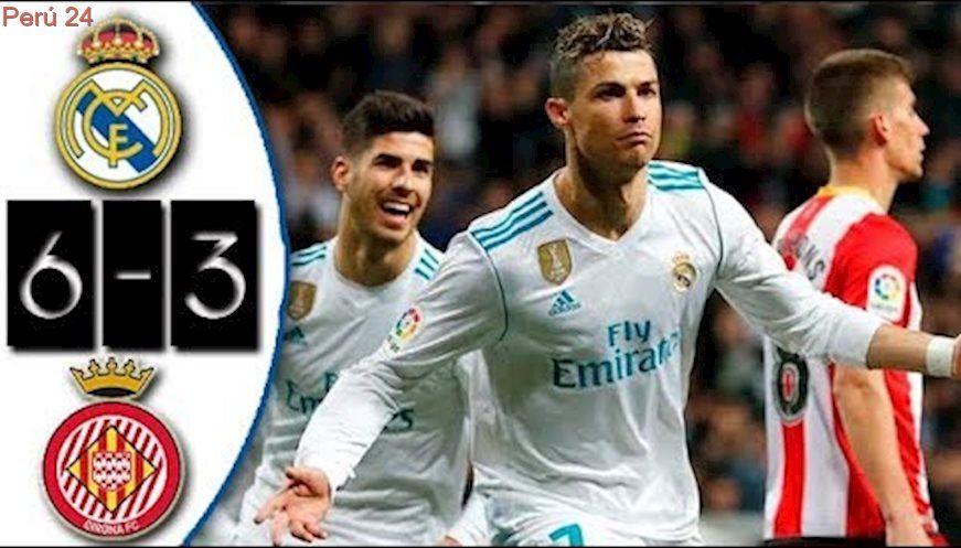Real Madrid vs Girona 63 Resumen Highlights Goles La Liga