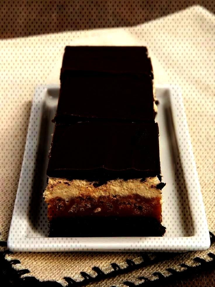 - Bake or Break Caramel Crunch Brownies are layer upon layer of good stuff, from caramel to chocola