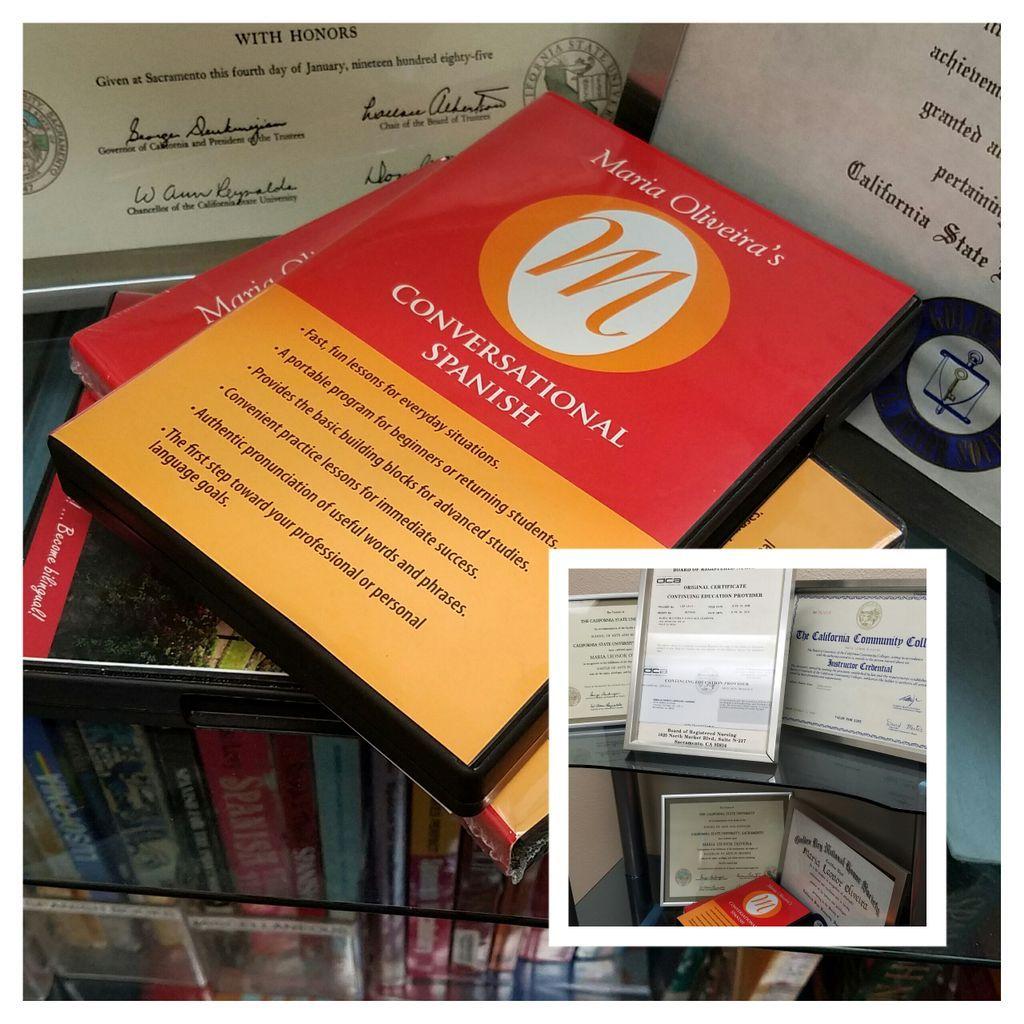 Workbooks spanish language workbooks : Conversational Spanish Volume 1 contains 6 CDs, a combined ...