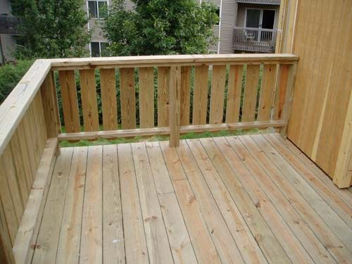 How To Build Porch Railing Wooden Deck Railing Design Railing