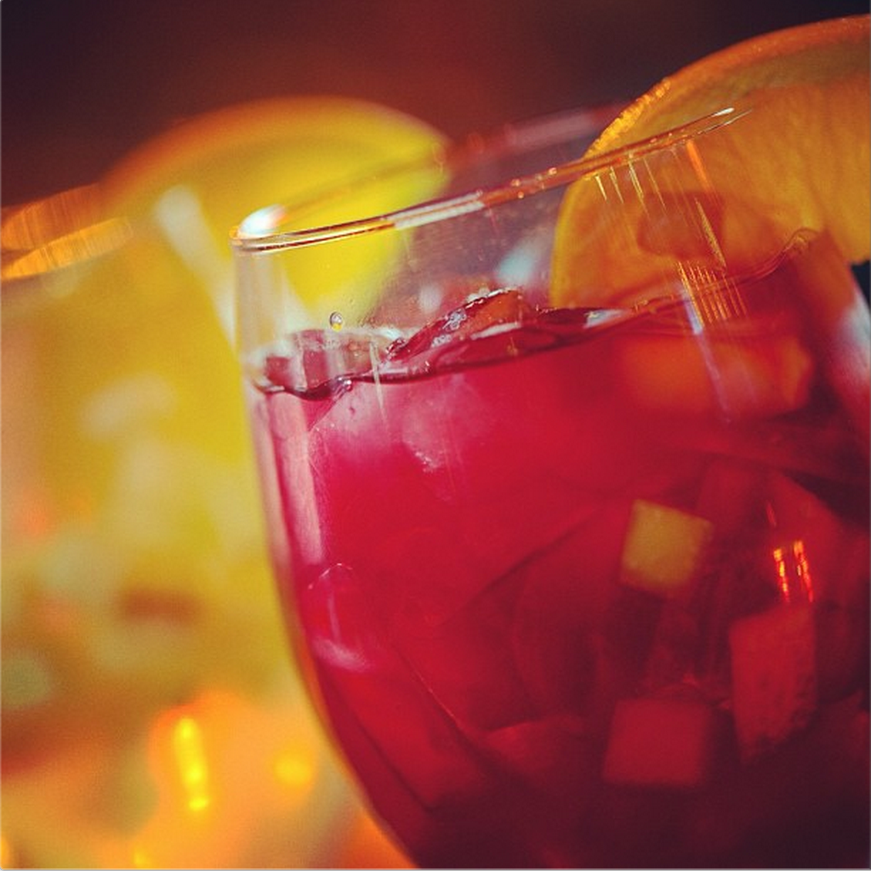 Sip on some Sangria… #cocktail #sangria