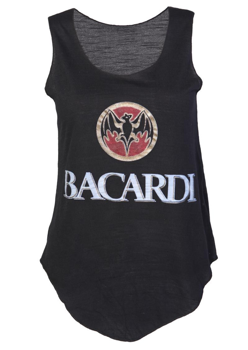 Bacardi Casual Vest Top / Black - Womens Clothing Sale, Womens ...
