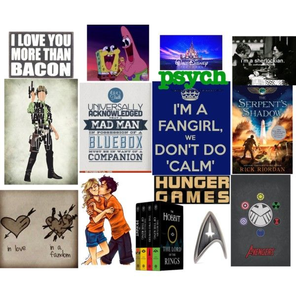 I'm A Fangirl, We Don't Do Calm by hiddenamongstars on Polyvore featuring polyvore and art