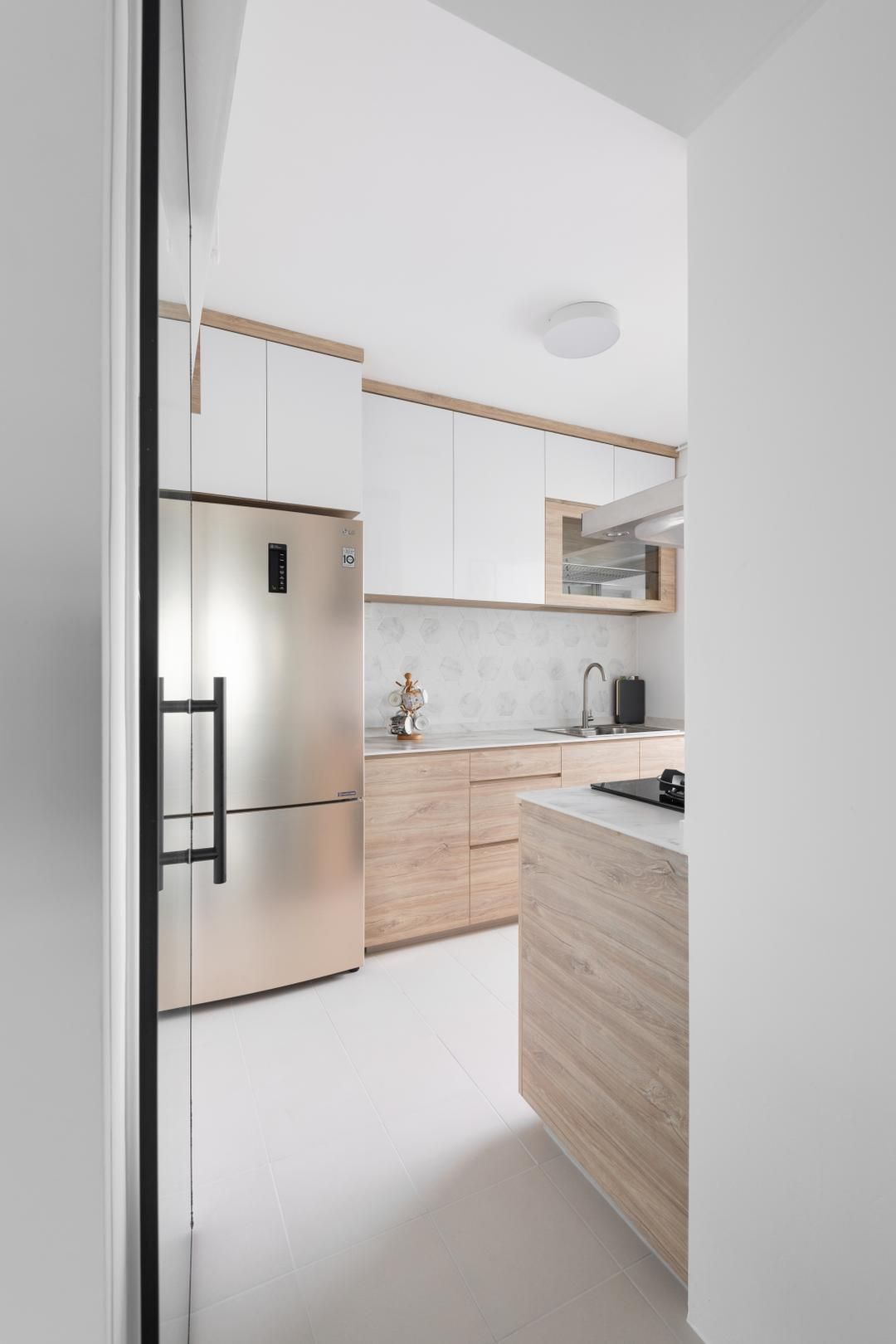 Check Out This Scandinavian Style Hdb Kitchen And Other Similar