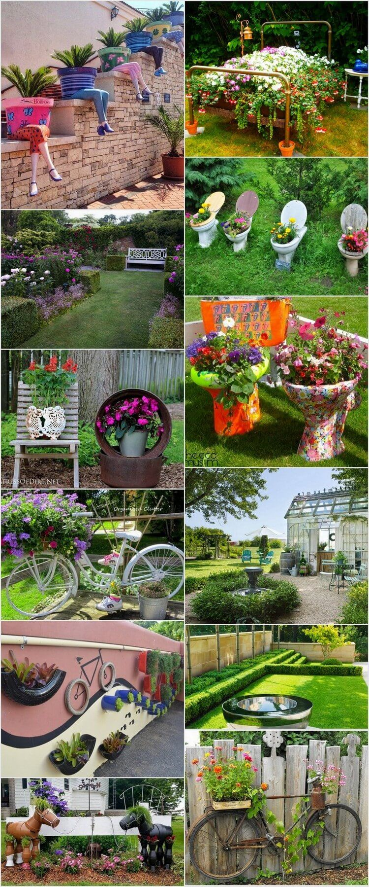 Easy and Cheap DIY Garden Art Projects To Dress Up Your Garden ...