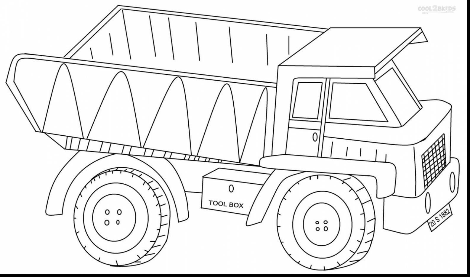 Garbage Truck Coloring Page Unique Semi Truck Coloring Pages Inspirational Semi Truck Coloring In 2020 Truck Coloring Pages Monster Truck Coloring Pages Coloring Pages