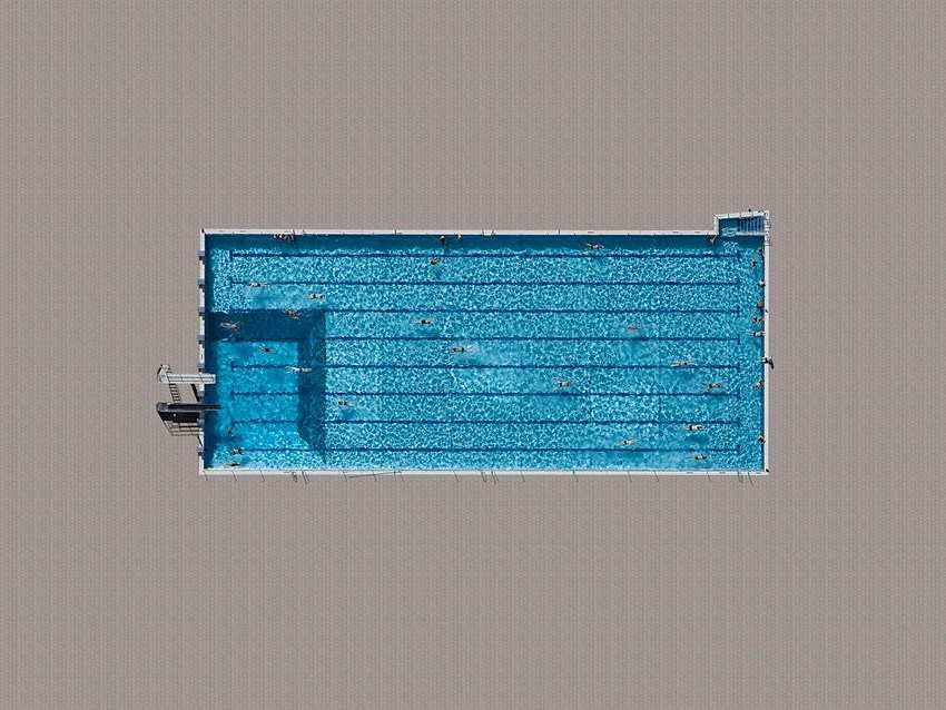 surreal and abstract aerial images of swimming pools by stephan zirwes inspiration photography - Rectangle Pool Aerial View
