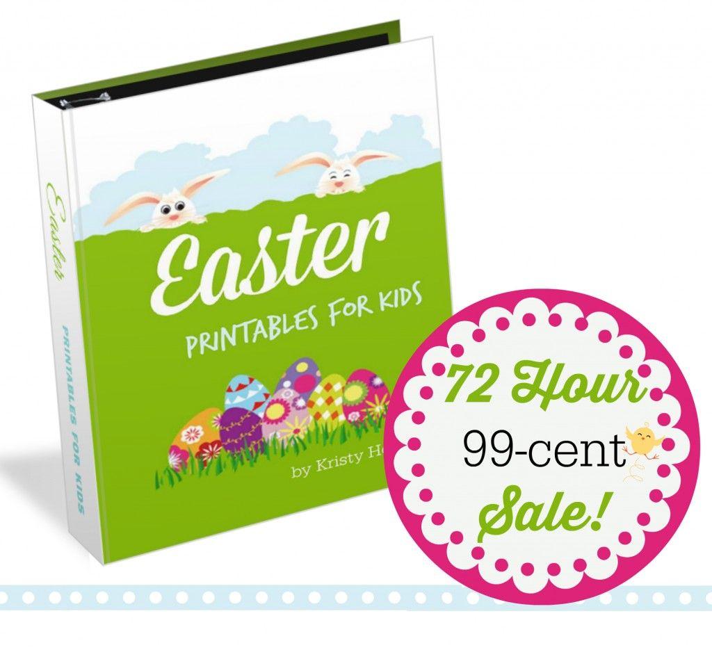 99 cent sale Easter Printables for Kids Kristy Howard | homeschool ...