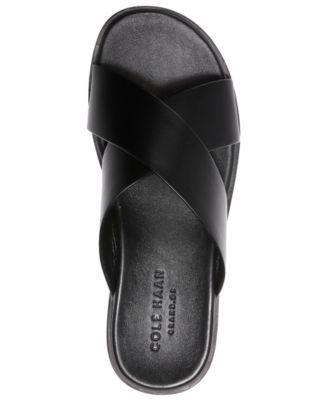 788814baf771d Cole Haan Men Goldwyn 2.0 Cross Band Slide Sandals Men Shoes in 2019 ...
