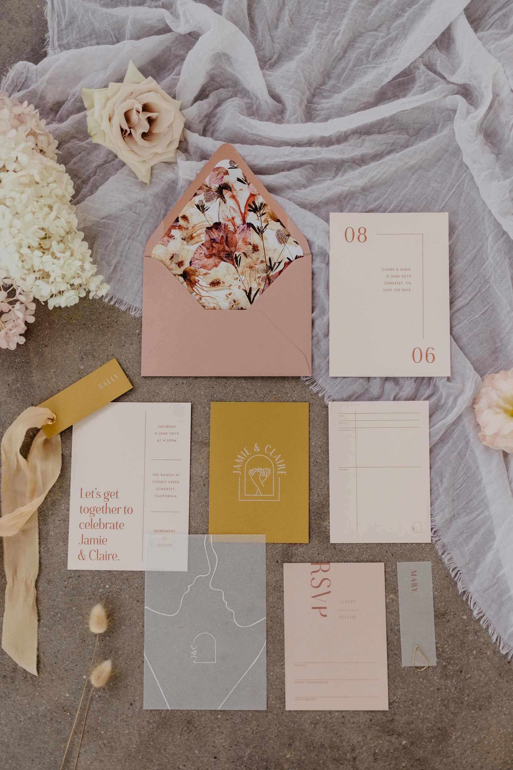 Halcyon Richly Hued Autumnal Wedding Inspiration Nouba Com Au Minimal Wedding Invitations In 2020 Minimal Wedding Invitation Minimal Wedding Wedding Invitations