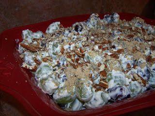 Visions of Sugar Plums: Creamy Grape Salad