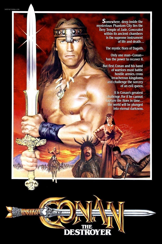 Conan Le Destructeur Affiche 385581 18941 Jpg 1000 1500 Https Www Mixturecloud Com Media Ixmrxyj4 Conan The Destroyer Conan Movie Conan The Barbarian Movie