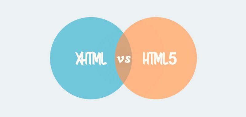 Diferencia y evolución de HTML, XHTML y HTML5