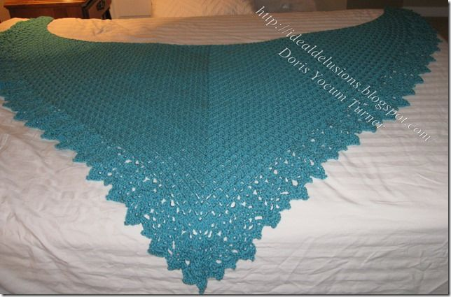 Box Stitch Shawl Border by Doris Chan (pattern saved in Ravelry ...