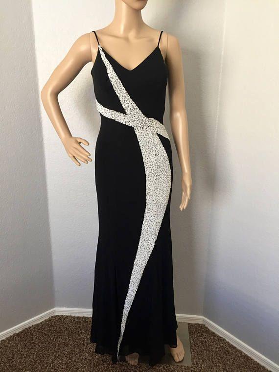 Vintage 1990's Mike Benet formal dress