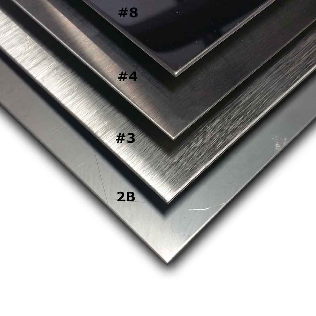 Guide To Stainless Steel Sheet Finishes Mill Polished Brushed Mirror Stainless Steel Sheet Stainless Steel Sheet Metal Steel Sheet