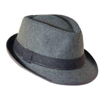 ee08dc5c7ad Amazon.com: Dorfman Pacific Herringbone Fedora Hat for Men: Clothing ...