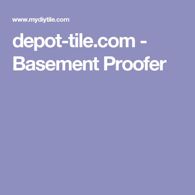 depot-tile.com - Basement Proofer