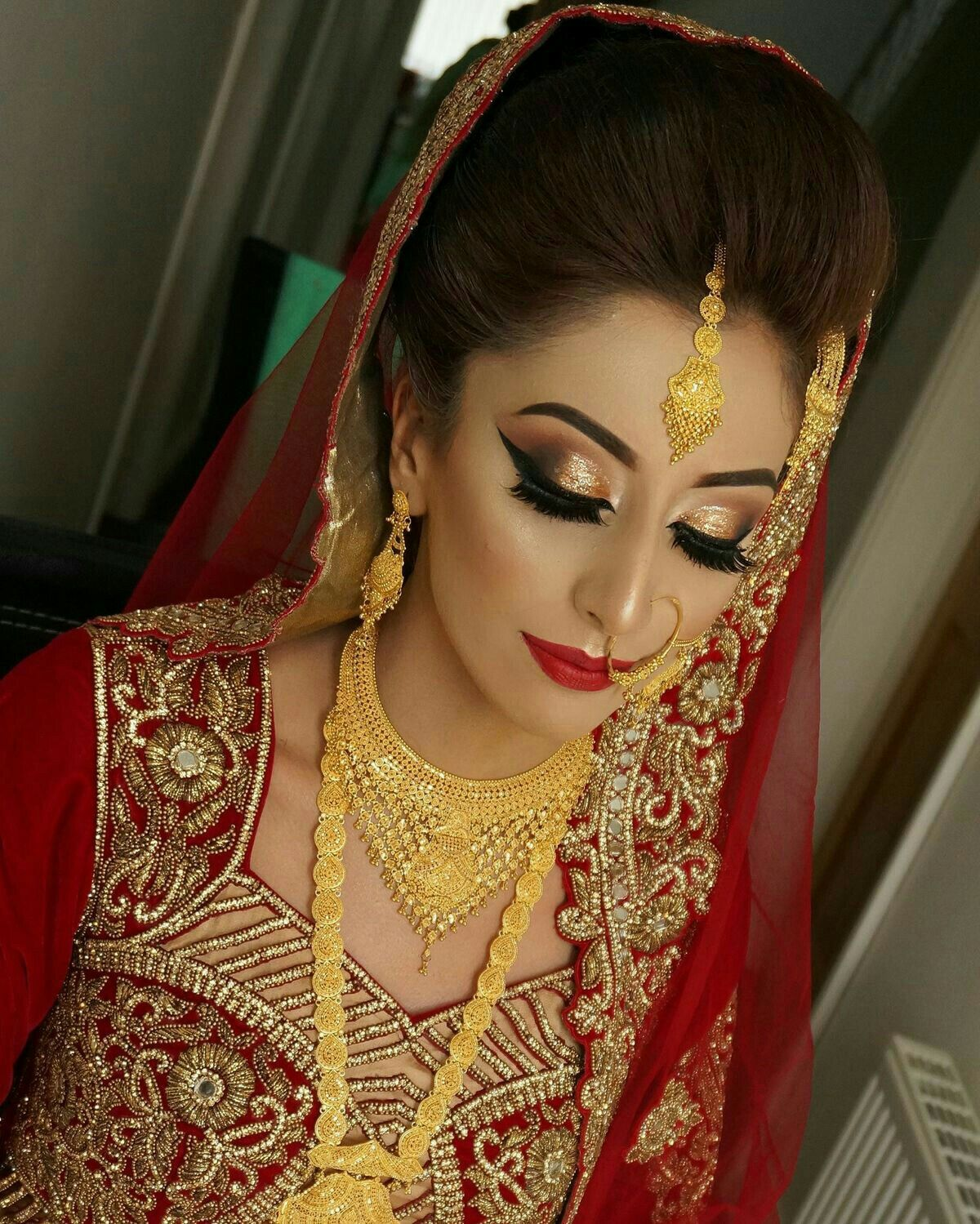 Pin by Kit Kat on Makeup Bridal jewellery indian