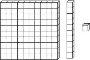 Base 10 Blocks Clipart Black And White