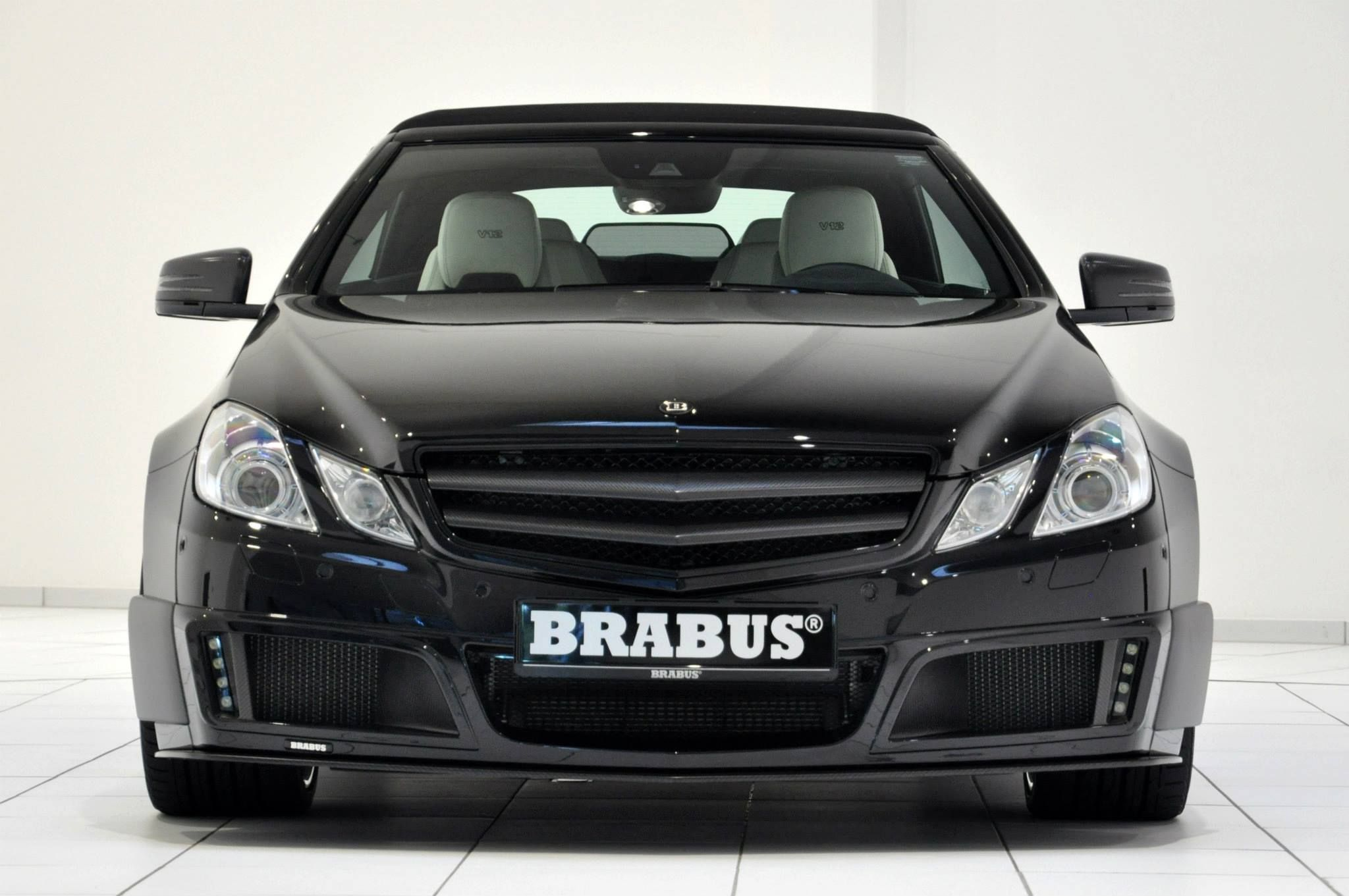 Mercedes Benz Brabus EV12 800 convertible mbhess mbcars mbtuning
